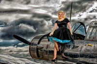 Second WW II Pin-up Photo shoot